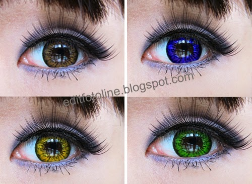 Cara Merubah Warna Mata Dengan Editor Foto Online