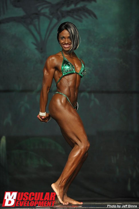 Jenetta Thompson Female Muscle Bodybuilding Blog Fitness Muscular Development
