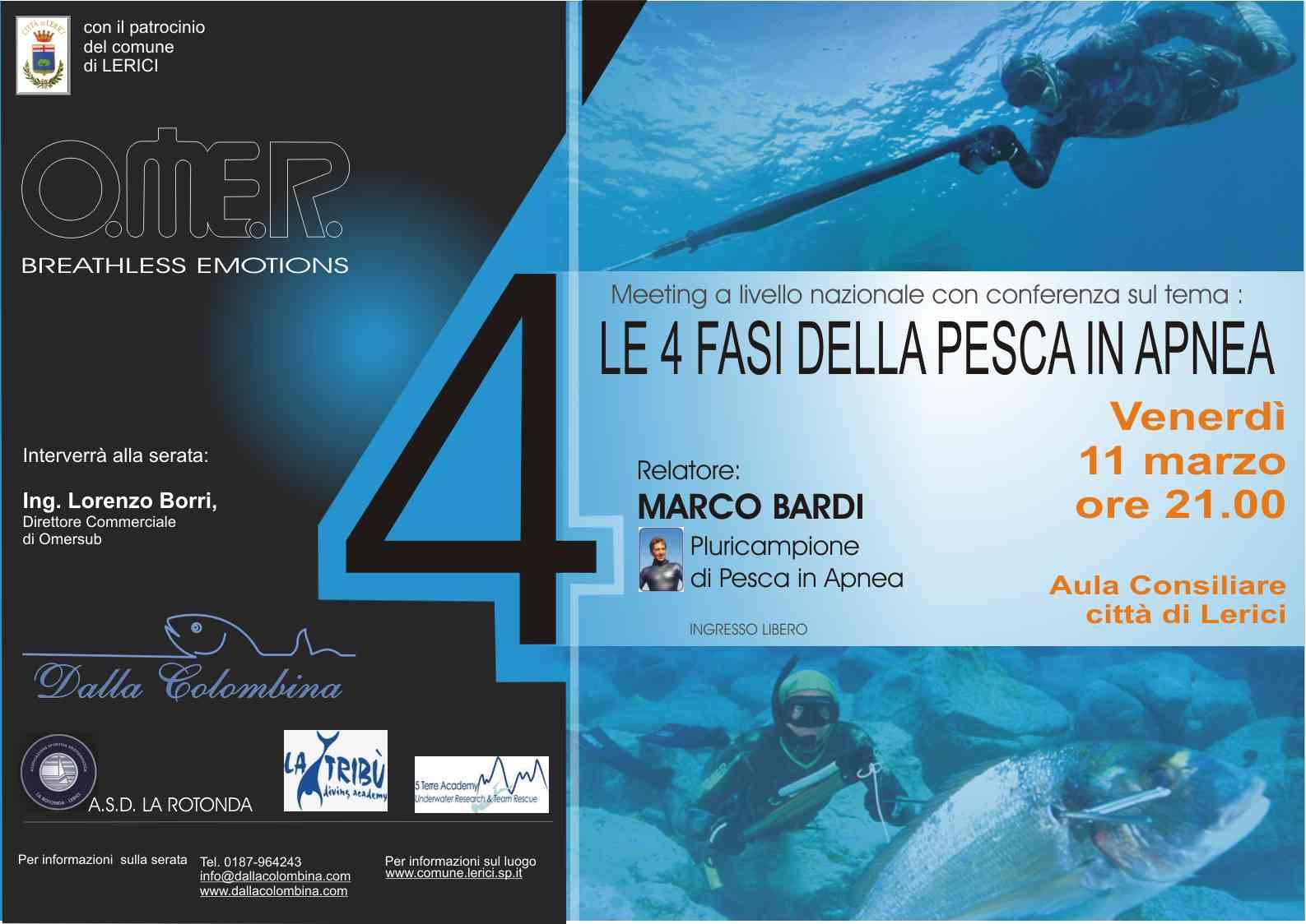 la tribù diving academy: Serata sulla Pesca in APNEA con MARCO BARDI