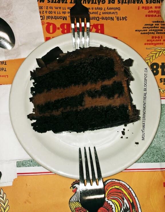 New System BBQ chocolate cake