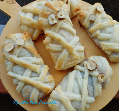 mummie dolci di sfoglia alla marmellata