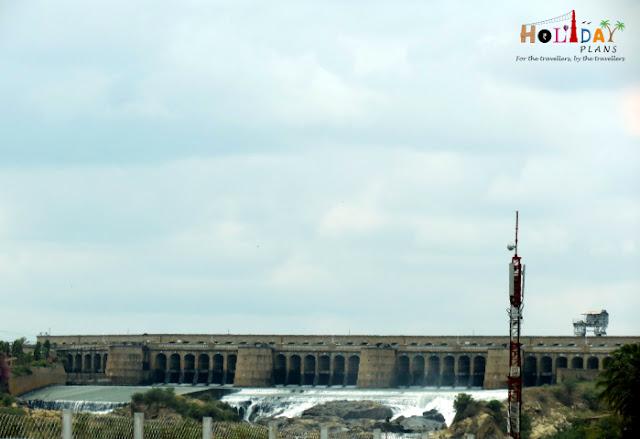 Krishna Raja Sagar Dam in Mysore, Karnataka India