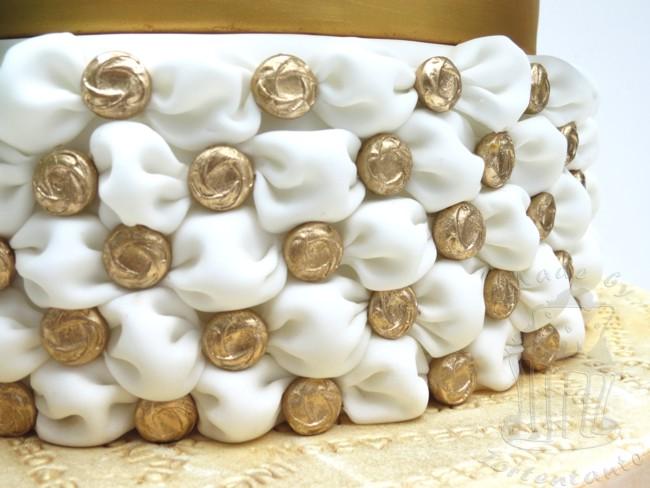 ... für Motivtorten: Torte zur Goldenen Hochzeit - nix mit schlicht