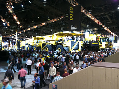 MINExpo 2012 - Caterpillar Steals Show