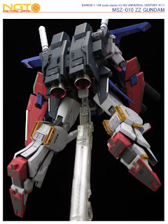HGUC 1/144 MSZ-010 ZZ Gundam