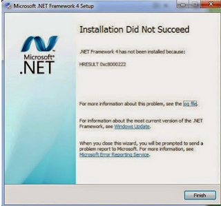 Cara Mengatasi Error Code Hresult 0xc800022 Ketika Instal Netframework