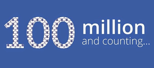 Facebook đạt 100 triệu người dùng và tiếp tục tăng trưởng