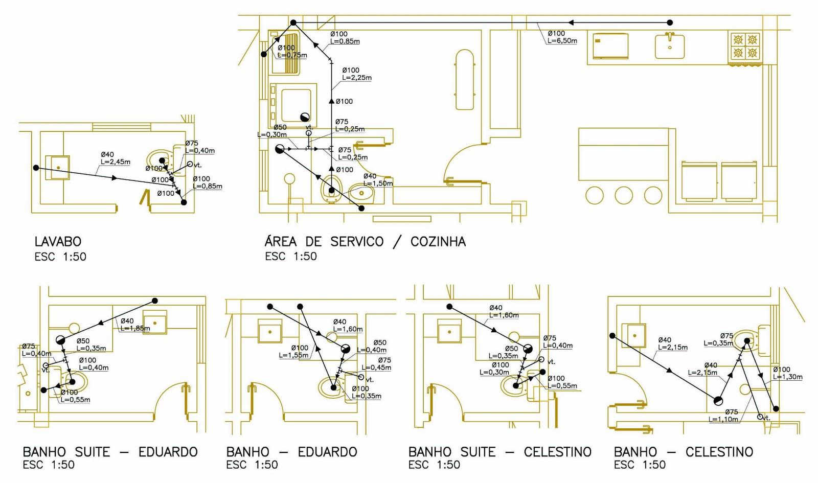 Imagens de #978434 MARIANA PROJETISTA: Arquitetura #04: Projeto de Instalação  1600x945 px 3450 Bloco Banheiro Cadeirante Cad