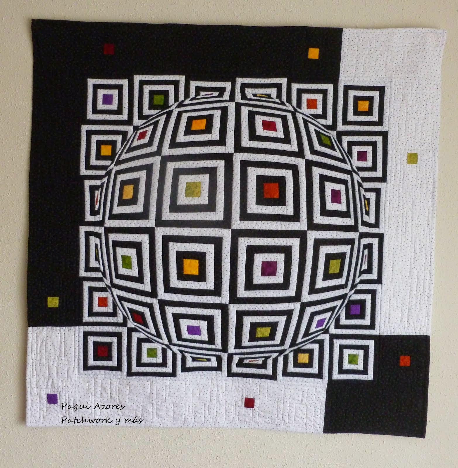 Con este Quilt gané el concurso de Quilting Gallery de Octubre de 2013.