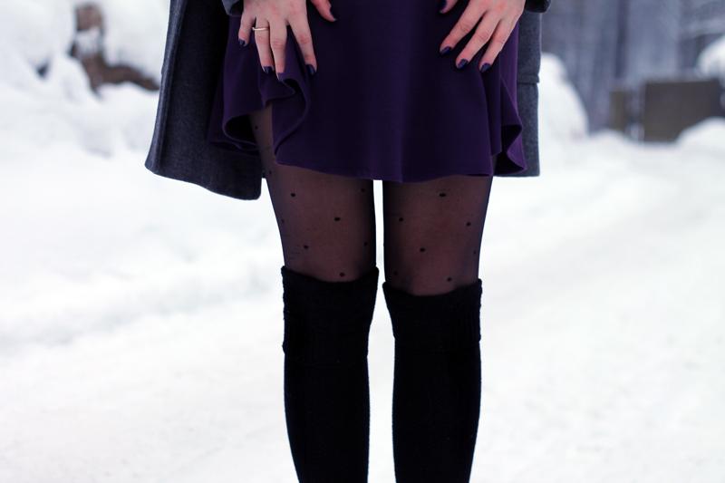 rozkloszowana spodnica