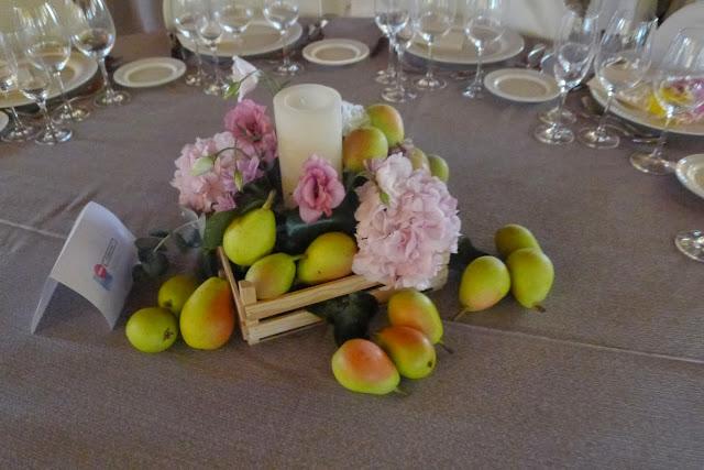 Decoración Boda Valencia Frutas peras