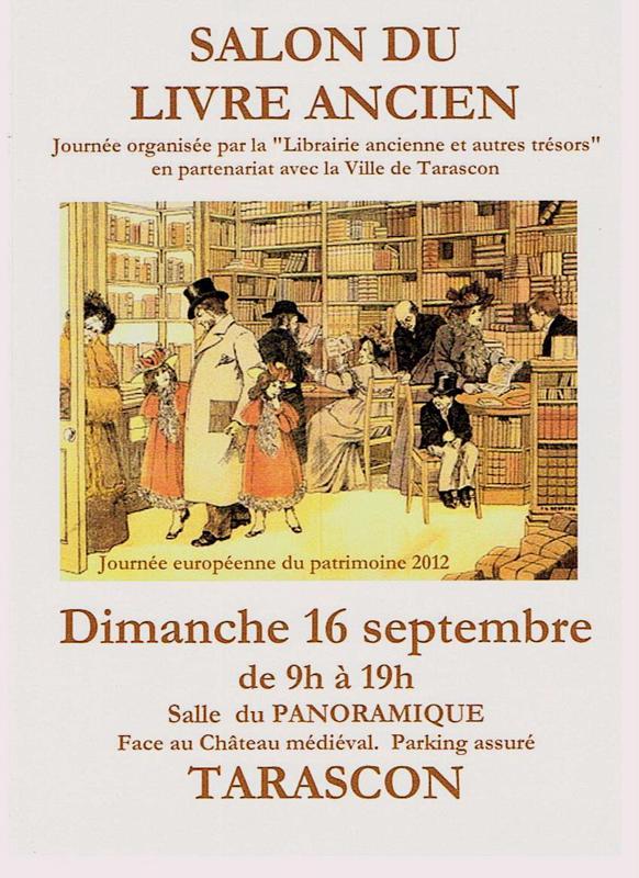 librairie liber marseille salon du livre ancien de tarascon