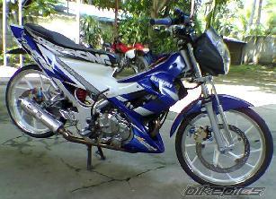 Top 9 Foto Modifikasi Motor Suzuki Satria FU 150