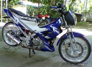 Foto Modifikasi Motor Satria FU 150 title=