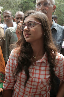 Actress Nazriya Nazim Stills at City Police Commissioner Office 0010