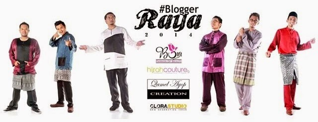 Penaja Rasmi Projek Blogger Raya 2014