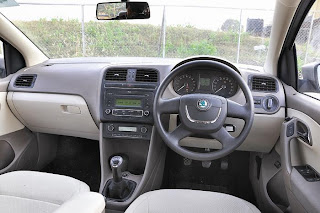 new skoda rapid interior view
