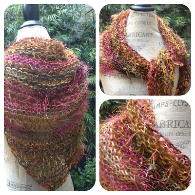 Prism Stuff Easy One Skein Shawl Free Pattern
