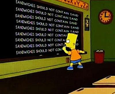Sand sandwiches