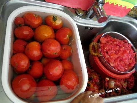 Cocinando para ellos mi salsa de tomate - Cocinando para ellos ...