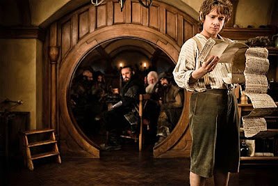 Hobbit Bilbo Baggins contract home Thorin Oakenshield