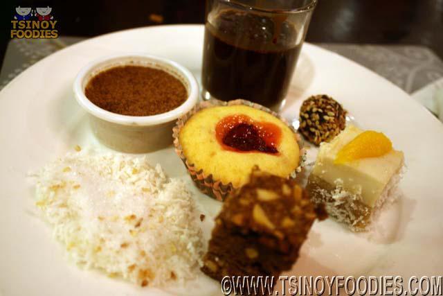 dessert plate casa filipino