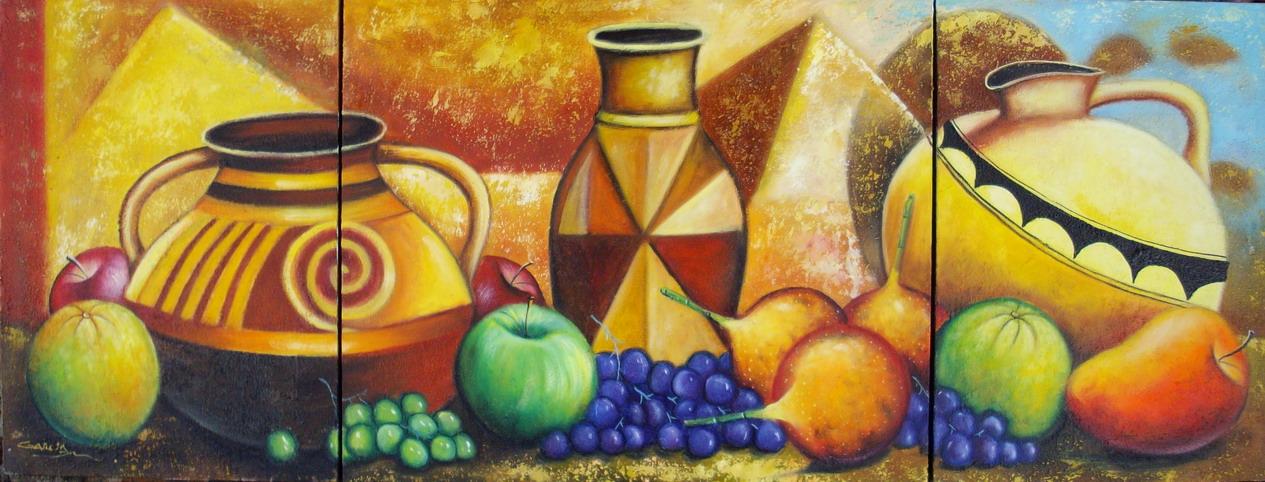 Cuadros modernos pinturas y dibujos cuadros de bodegones - Cuadros modernos para cocina ...