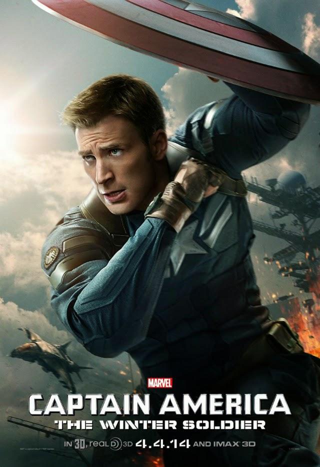 La película Captain America: The Winter Soldier ( Capitán América: El soldado de invierno )