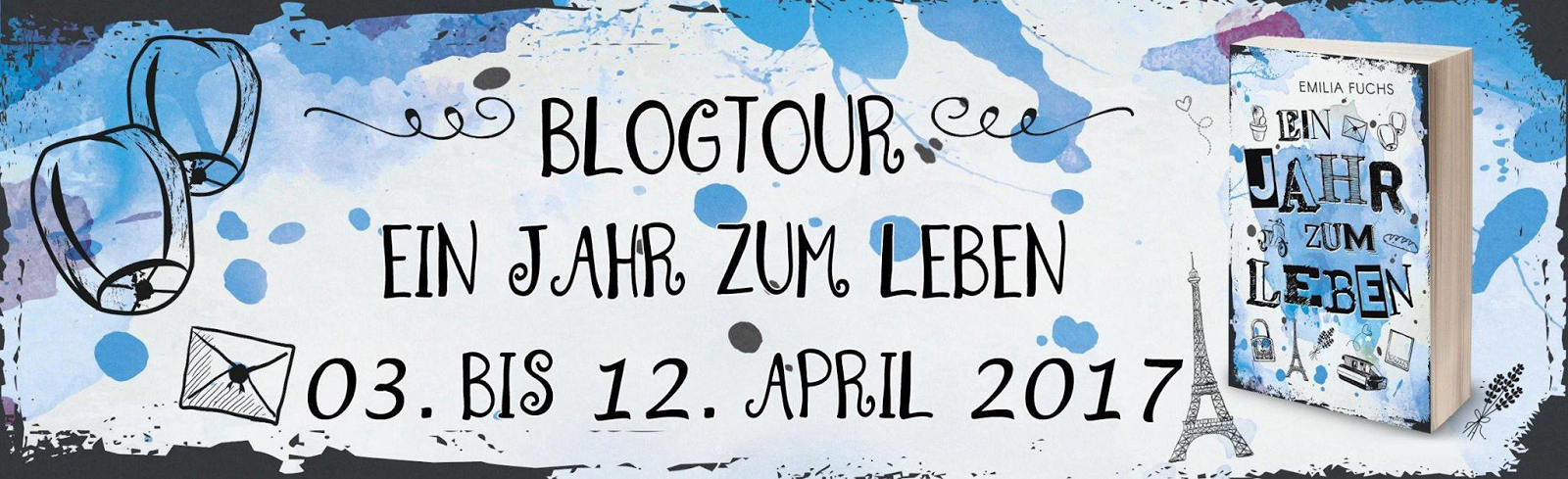 Blogtour 03.04. - 12.04.2017
