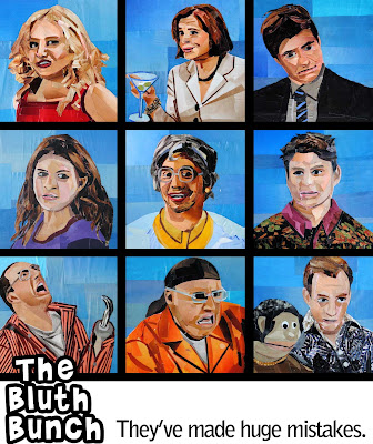 Arrested Development the Bluth Bunch by Megan Coyle