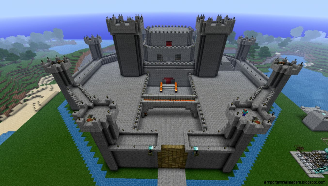 Minecraft Casttle Design