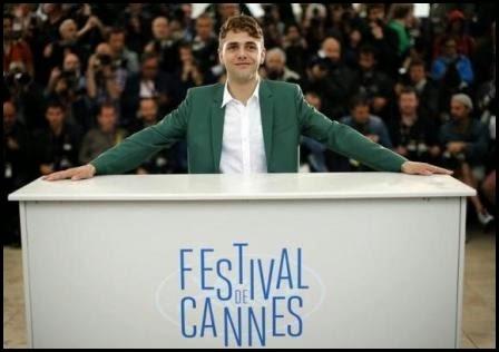 Xavier Dolan en el Festival de Cannes