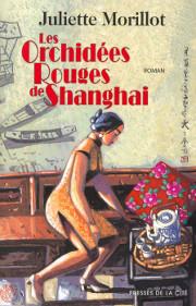 orchidées, rouges, Shanghai, Morillot