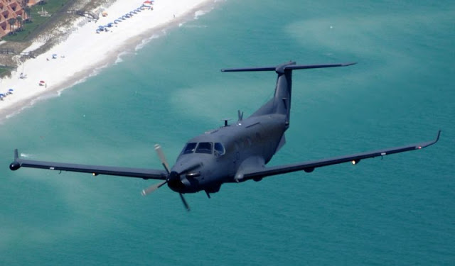U-28A aircraft, the military version of the Swiss Pilatus PC-12