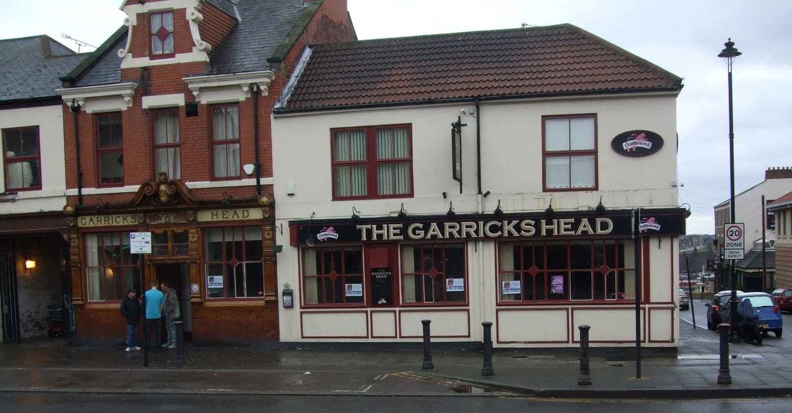 The Garricks Head on Saville Street, North Shields, which has been closed