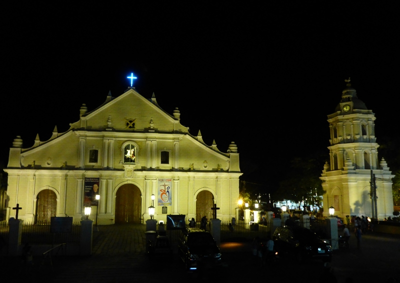 Vigan by night