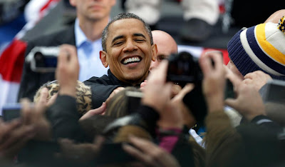 President Obama Campaigns To Voters Day Before Election