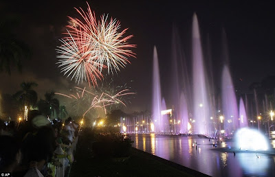 Perayaan Tahun Baru 2012 di Filipina