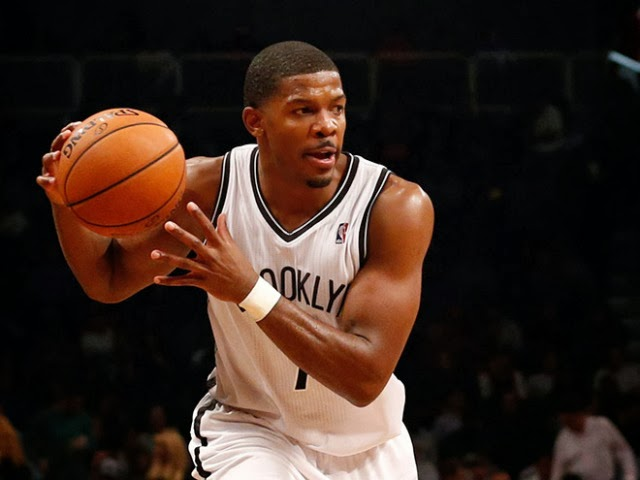 Joe Johnson of the Brooklyn Nets