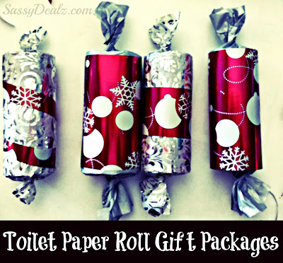 xmas toilet paper roll craft
