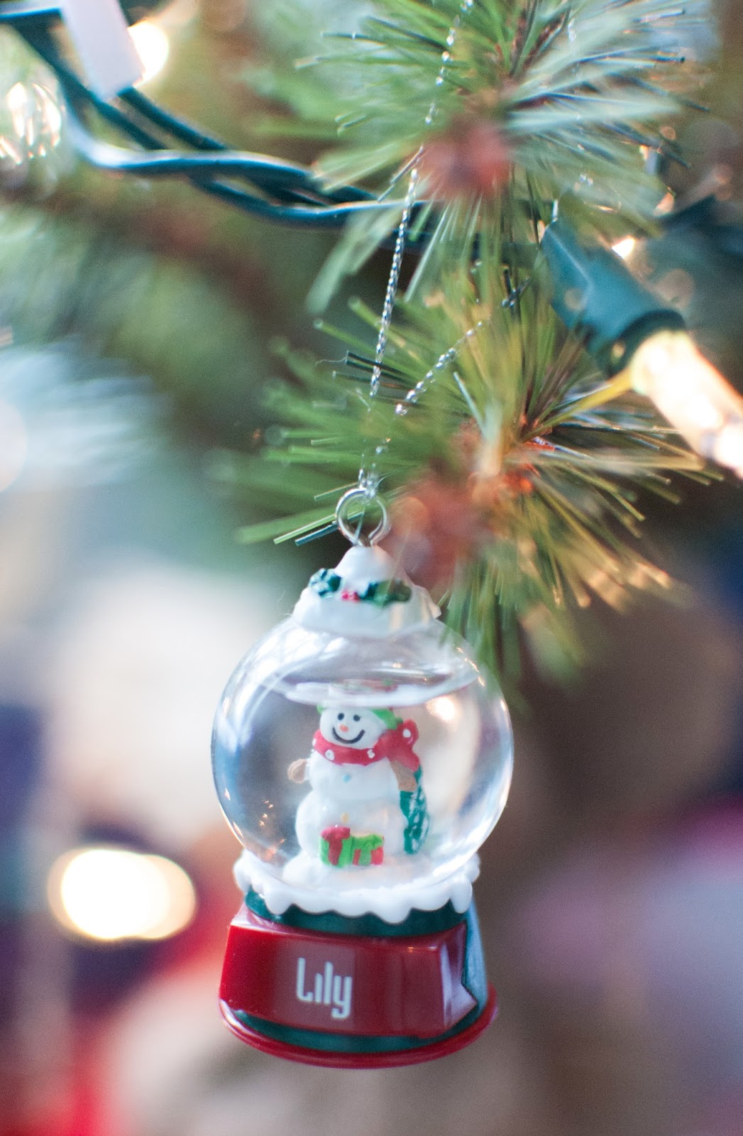 Name christmas ornaments - I Also Got This Little Snowman Ornament For Lily When I Was Pregnant With Her Again It Doesn T Have Much Meaning Behind It But Is Special Because It Has