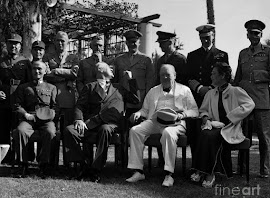 CONFERENCIA DEL CAIRO 01/12/1943 GENERALÍSIMO CHIANG KAI-SHEK FRANKLIN ROOSEVELT WINSTON CHURCHILL
