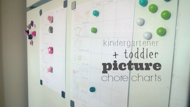 kindergartener, toddler routine charts