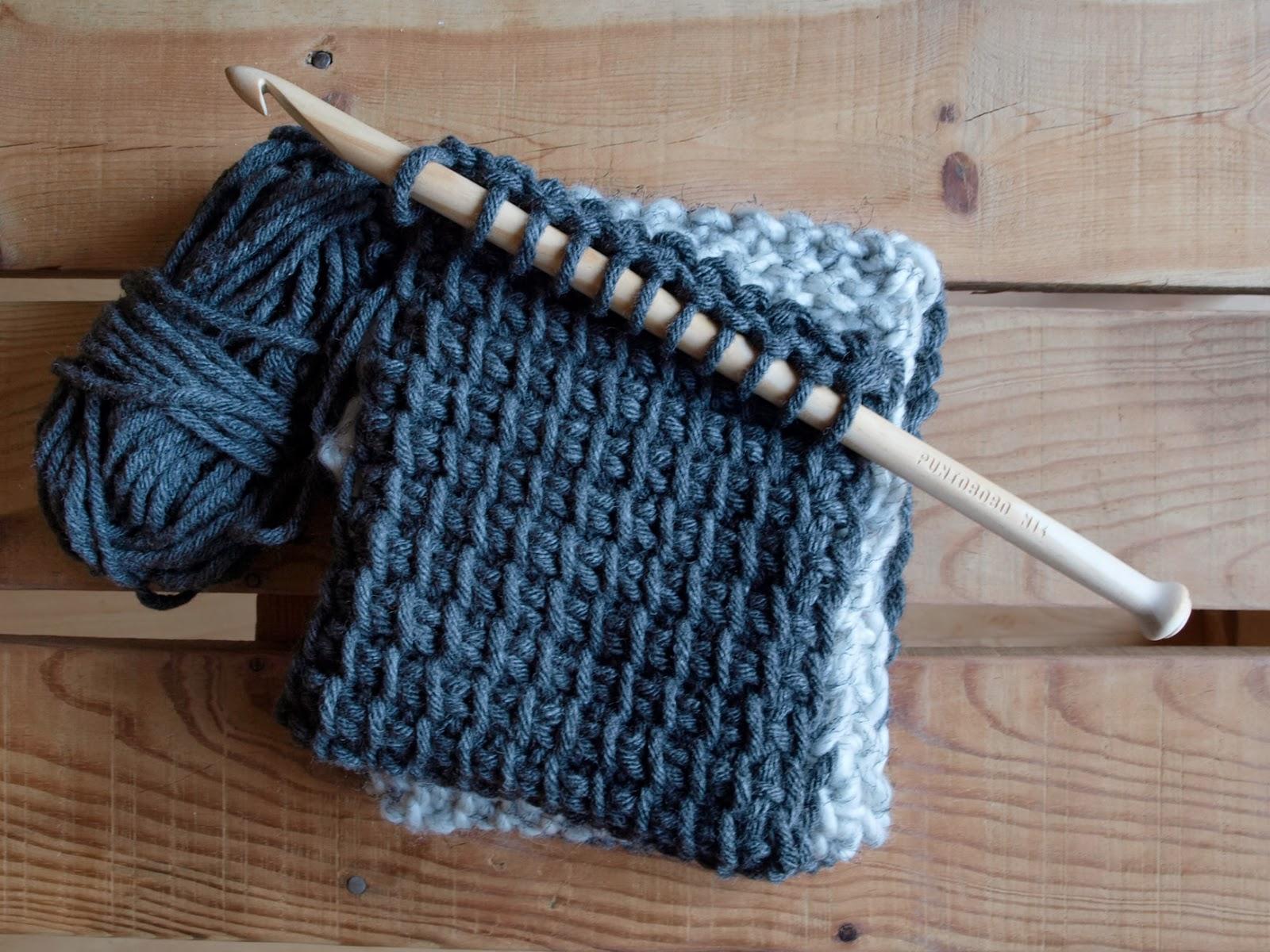 PUNTOBOBO Agujas de madera artesanales para tejer: Bufanda infinita ...