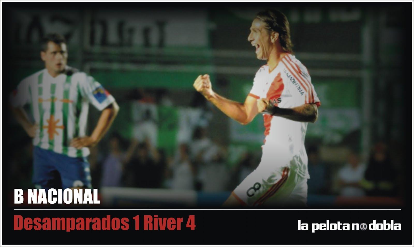 River Plate derrotó a Desamparados de San Juan por 4 a 1