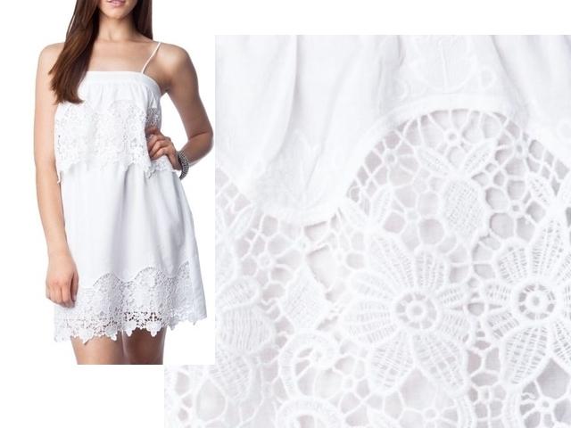 Vestidos brancos de algodão