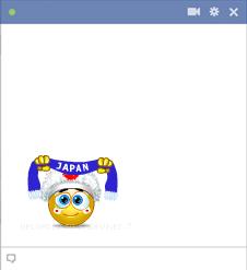 Japan football fan