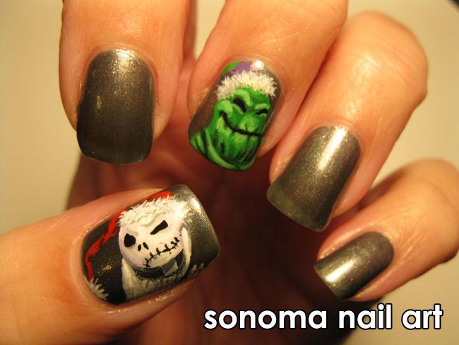 Sonoma Nail Art: Nightmare Before Christmas