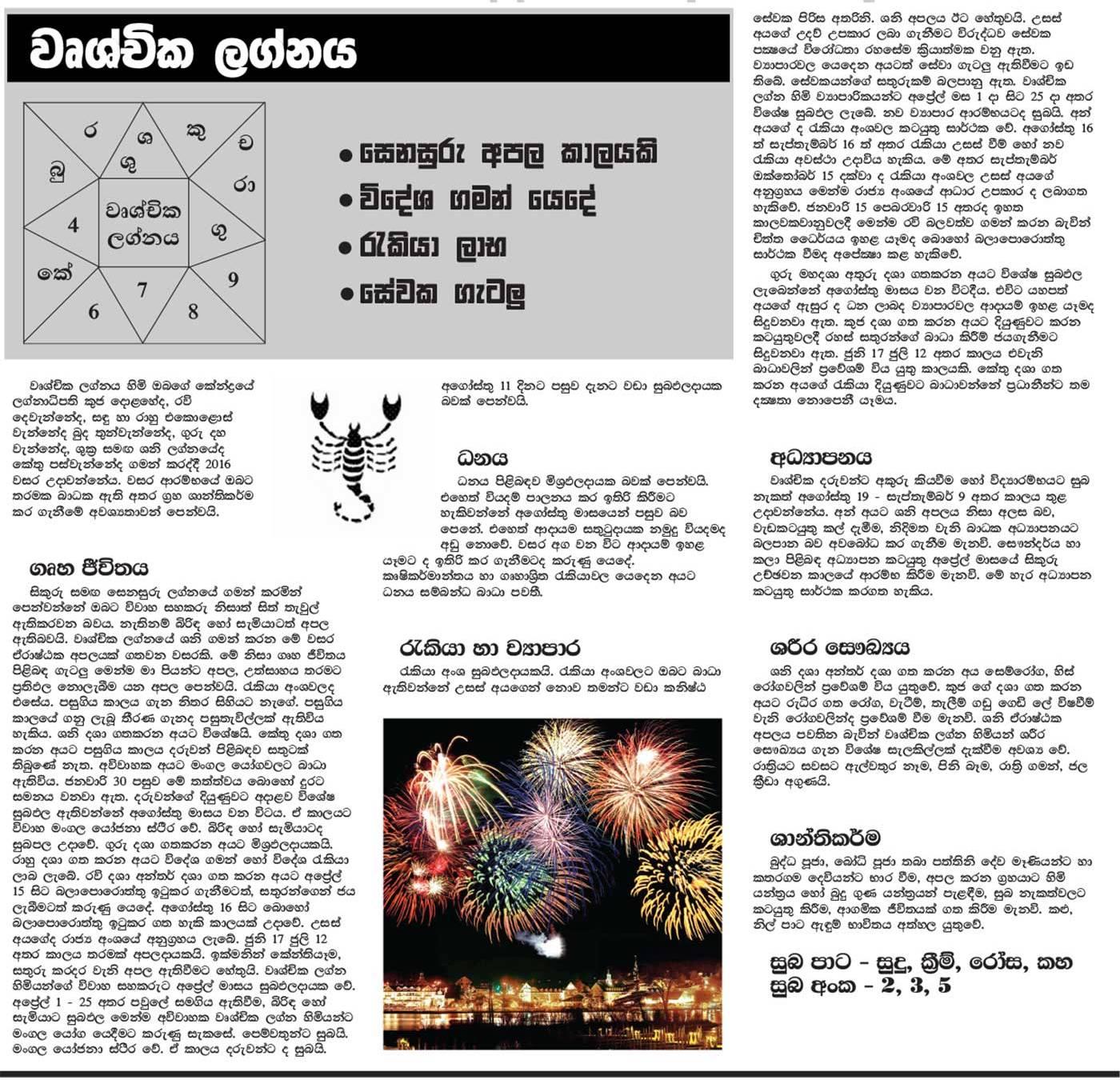 astrology sinhala pdf