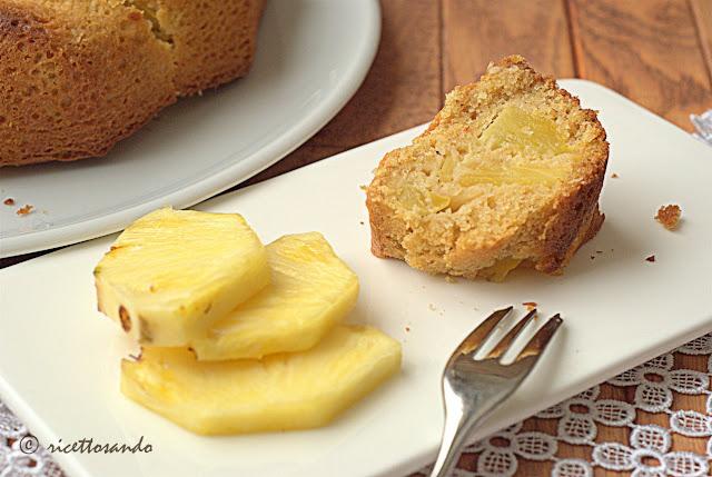 Ciambella all'ananas con cereali e yogurt ricetta torta dolce